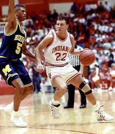 My favorite all time player! Indiana Basketball, Basketball Uniforms, College Basketball, Basketball Players, Buy Basketball, Bobby Knight, Iu Hoosiers, Western Conference, Basketball Leagues