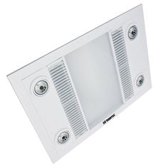 The white Supernova LED 2 bathroom mate by Brilliant ...