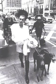 My Vintage Love Affair: Dogs in Fashion