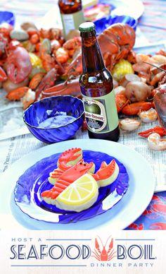 Cajun Seafood Boil, Seafood Broil, Lobster Boil, Seafood Party, Seafood Boil Recipes, Seafood Menu, Seafood Bake, Crab Boil, Spaghetti Bolognese