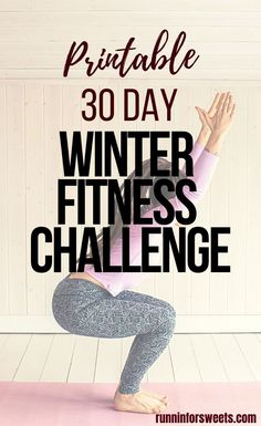This winter fitness challenge is the ultimate way to stay motivated and in shape this season. Download this free, printable 30 day fitness challenge for your full body! Find the winter fitness motivation you need by challenging yourself to stay accountable each day. #winterfitnesschallenge #winterfitness #fitnesschallenge Arm Workout For Beginners, Beginner Workout At Home, At Home Workouts, Cross Training For Runners, Cross Training Workouts, 30 Day Fitness, Fitness Motivation, Full Body Strength Workout, Home Weight Workout