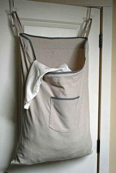 Hanging laundry bag sac a sac par laundry storage laundry room dorm hanging laundry bag online india Large Laundry Hamper, Laundry Storage, Laundry Bags, Laundry Rooms, Laundry Basket, Dorm Room Necessities, Dorm Room Doors, Potato Bag, Clothing Storage