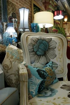 handpainted chairs   Handmade Hand Painted Chairs by Jane Hall The Voice Of Style ...