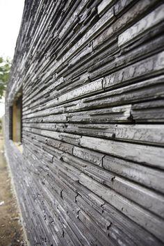 Cassia Brick Design, Wall Design, Grey Brick, Cladding, Architecture, Les Oeuvres, Natural Stones, Facade, Building