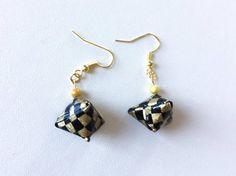 Bijoux Origami Boucles d'oreille origami géométriques by Chizoukou
