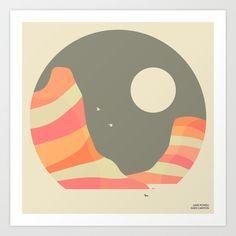 LAKE POWELL, GLEN CANYON Art Print by Jazzberry Blue - $19.00