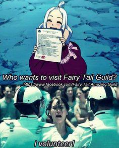 I wanna come take me with you Mirajane! Fairy Tail Funny, Fairy Tail Love, Fairy Tale Anime, Fairy Tales, Otaku Problems, Fariy Tail, Fairy Tail Guild, Anime Family, Anime Life
