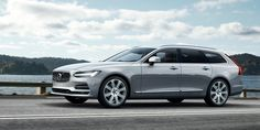 2017 Volvo V90: Here It Is in All Its Wagon Glory