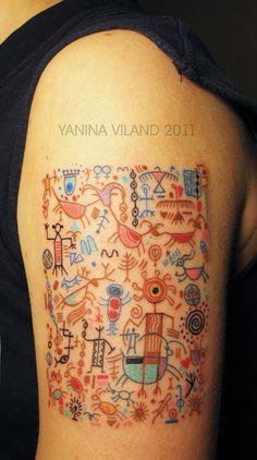 Tattoo by Yanina Viland