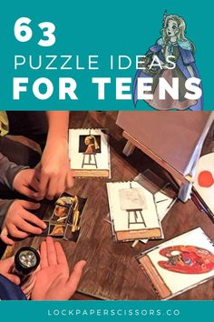 These escape room puzzle ideas have been hand-selected by the High Wizards themselves. They are cheap, easy to craft, and don't require knowledge of any dark magic. In short, these puzzles are perfect for first-time designers like yourself!
