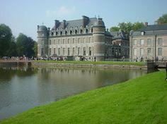 The Château de Belœil, Belgium is open in spring and summer.