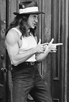 Harvey Keitel Taxi Driver 1976 ~ Harvey Keitel rehearsed with actual pimps to prepare for his role. The scene where his character and Iris dance is improvised, and is one of only two scenes in the film that don't focus on Bickle. (IMDB)