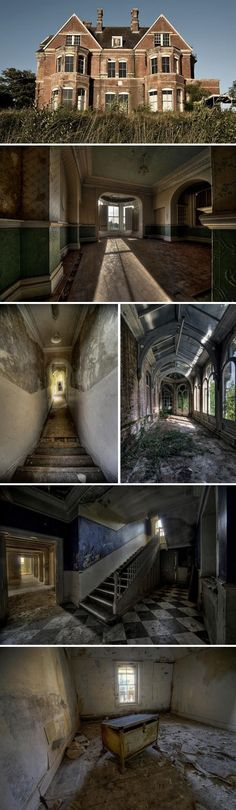 #abandoned Lillesden School for Girls, England ...INSANE! I want to LIVE HERE!! #AbandonedMansions #schools