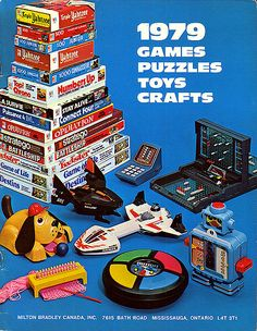 1979 Milton Bradley toys - from my oldest son't childhood :) {klb}