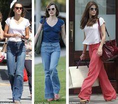 Lush Fab Glam: Fashion Trends: Retro 70s Flare Pants Making a Comeback!