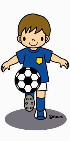 S is for Soccer People Illustration, Illustrations, Sports Clips, Boy Cards, Digital Stamps, Kids Education, Classroom Decor, Clipart, Painted Rocks