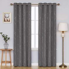 5 Best Blackout Curtains for Bedroom - CountryCurtains Grey Blackout Curtains, Blackout Curtain Lining, Dark Curtains, Thermal Curtains, Lined Curtains, Grommet Curtains, Bedroom Curtains, Classic Room, Living Room Sliding Doors