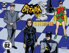Weird Science DC Comics: Batman '66 Meets Steed and Mrs. Peel Chapter #2 Re...