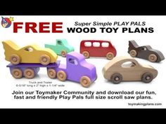 ToymakingPlans.com | Fun to Make Wood Toy Plans, Patterns and Projects for the Scroll Saw and Table Saw