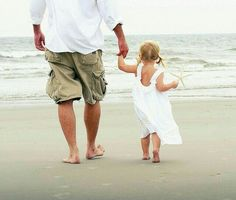 daddy and daughter walk on beach Beach Photography, Children Photography, Family Photography, Conceptual Photography, Beach Family Photos, Beach Pictures, Family Pictures, Daddys Little Girls, Daddys Girl