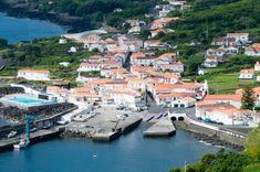 Town of Ribeiras, Island of Pico in the Azores