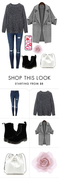 """""""Simple and ready"""" by nikkinyb ❤ liked on Polyvore featuring Miss Selfridge, Toast, Dr. Martens, Sole Society and Accessorize"""