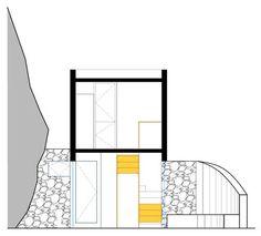 835994929_box-d-corte-1BOX HOUSE ELEGANCE  Architects: Alan Chu & Cristiano Kato Location: Ilhabela, Sao Paulo, Brazil  Project year: 2008 Constructed area: 36 sqm, 118 sq ft Photographs: Djan Chu