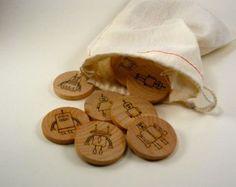 Houten memorie spelletje - ONLINE bij WoodtoyShop https://www.etsy.com/nl/listing/87308489/memory-matching-game-robots-kids-wooden?ref=favs_view_7