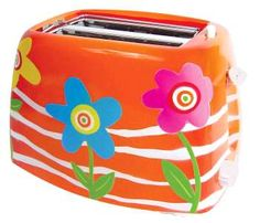 Funky Hippie Toasters - Pop Color Into Your Kitchen (GALLERY)