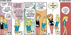Stone Soup Comic Strip, August 27, 2006 on GoComics.com