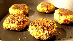 Protein-Packed Vegan Tofu Burgers with Tahini Dressing