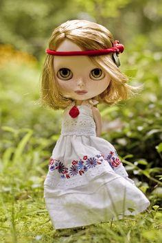 Dakota Rose in her summer dress