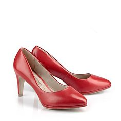 Buffalo Plateau-Pumps in rot