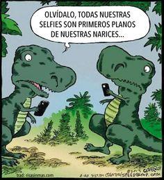Selfies de T-Rex
