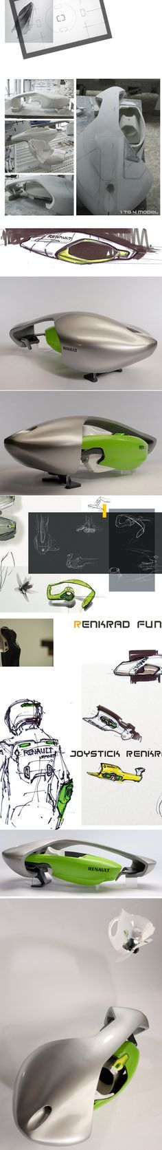 Futuristic Concept Car by Nick Pugh