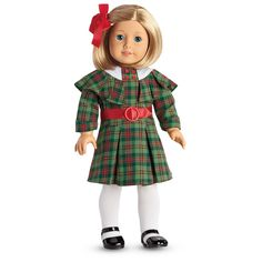 American Girl Kit's Christmas Outfit for 18-inch Dolls
