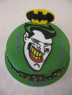joker Party Ideas for Boys | Mens Birthday Cakes. Pinterest Birthday Ideas For Men. View Original ...