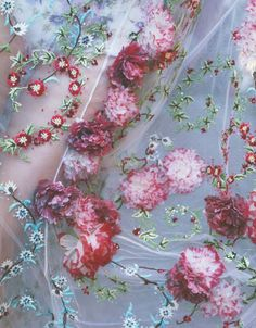Detail of a Giambattista Valli Haute Couture Fall/Winter 2013...