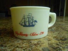 Vintage Old Spice Shaving Mug 1960s 1970s Mid Century Salem SHIP 1704 Shulton   eBay