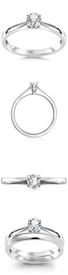 Pierścionek z brylantem Éternel www.YES.pl/42867-platynowy-pierscionek-z-brylantem-eternel-BB-Z-000-025-3595V2H #jewellery #silverjewellery #rings #perfectrings #silverrings #beautifulrings #beauty #classy #online #perfecgift #BizuteriaYES #poland