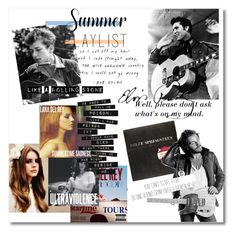 """""""What's Your Summer Playlist?"""" by dazedandconfused ❤ liked on Polyvore featuring art and Summerplaylist"""