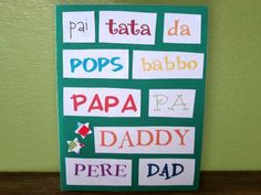 Father's Day Around the World Card