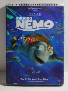 collectors edition of Finding Nemo. Finding Nemo Dvd, Disney Presents, Good Morning America, Disney Pixar, Slipcovers, Animation, Fictional Characters, Movie, Ebay