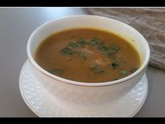 Recette facile de Harira Algerienne/Harira soup/طريقة تحضير الحريرة الجزائرية - YouTube