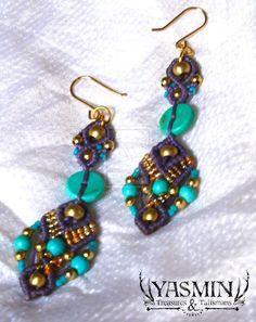 Feary Earrings by yasminlux.deviantart.com on @deviantART