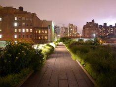 Highline Park, NYC, Summer Nights
