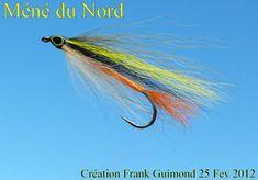 méné du nord Hair Wings, Fly Tying Patterns, Diy Home Crafts, Streamers, Fly Fishing, Ideas, Fishing, Blue Prints, Salmon