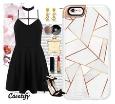 """I'm effing amazing👌🏻"" by casetify ❤ liked on Polyvore featuring Casetify, WithChic, STELLA McCARTNEY, Yves Saint Laurent, Chanel and Hermès"