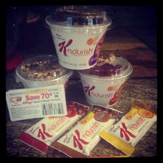 Healthy nutritious breakfast go check out Special K nourish #gotitfree