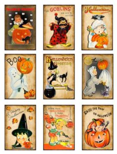 Halloween Labels, Halloween Signs, Holidays Halloween, Halloween Crafts, Retro Halloween, Halloween Printable, Halloween Witches, Halloween Clipart, Halloween Halloween